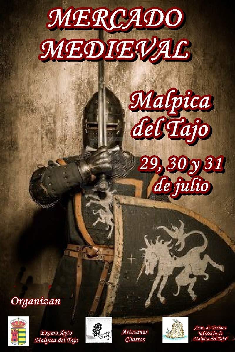 Mercado medieval. Malpica de Tajo. 29,30 y 31 de julio de 2016 Cartel-definitivomercamedie
