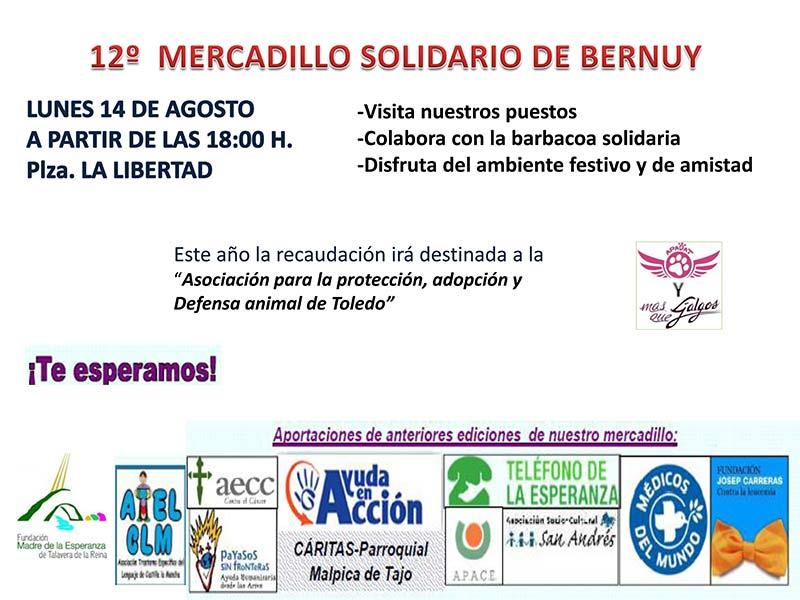 12º Mercadillo Solidario de Bernuy (14 de agosto de 2017) Cartelmercadillo2017Bernuy