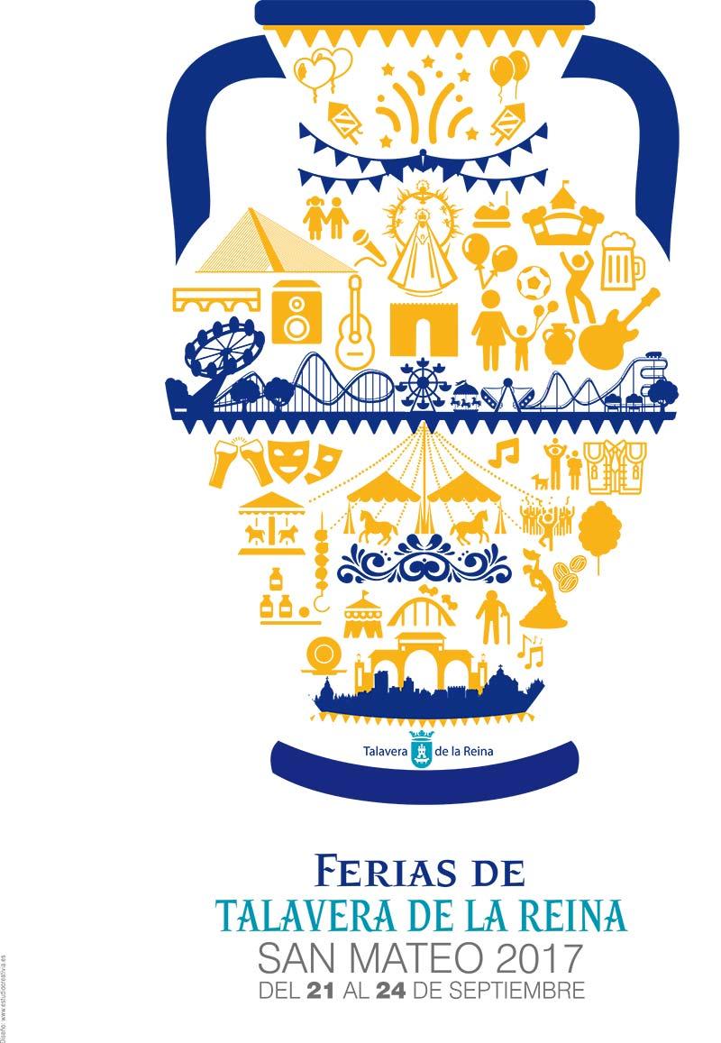 Fiestas Talavera 2017. Programa de las ferias en honor a San Mateo 2017 en Talavera de la Reina Talasanmateo2017_1
